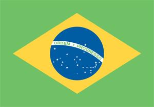 Flag of Brazil ブラジル国旗