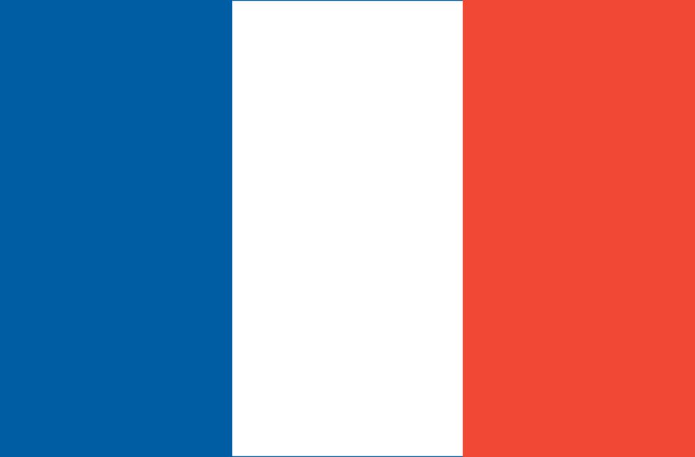 High Resolution Flag: French Flag (Flag Of France