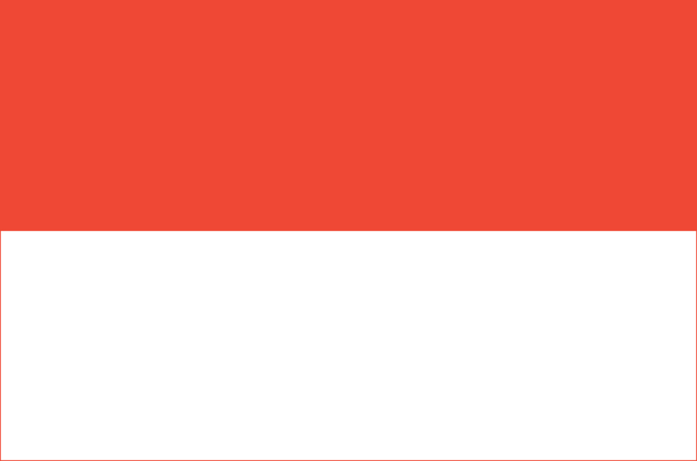 Indonesian Flag (Flag of Indonesia)