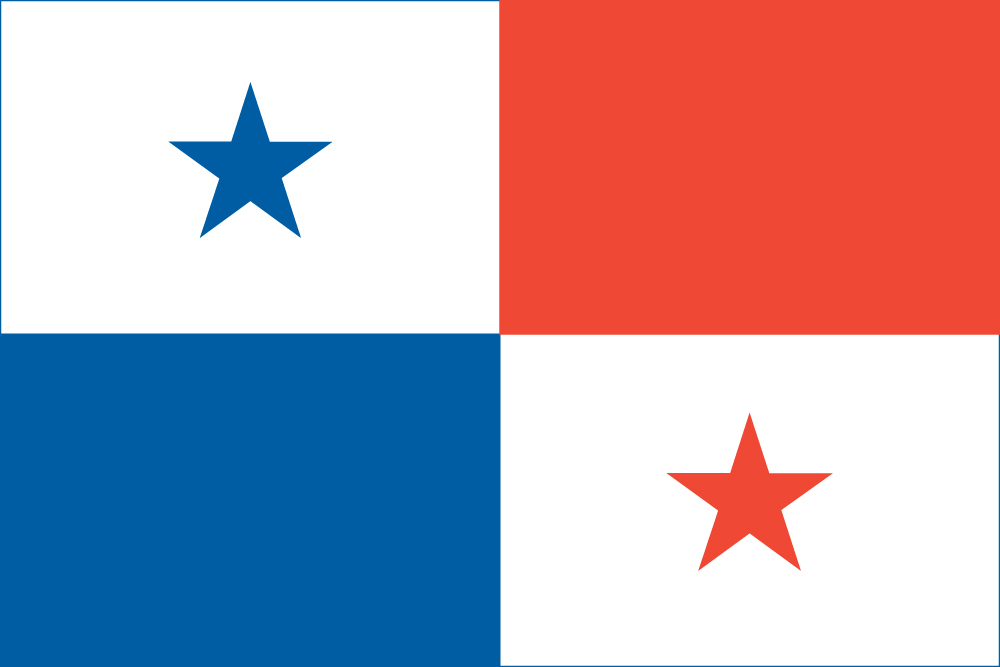 Panamanian Flag (Flag of Panama)