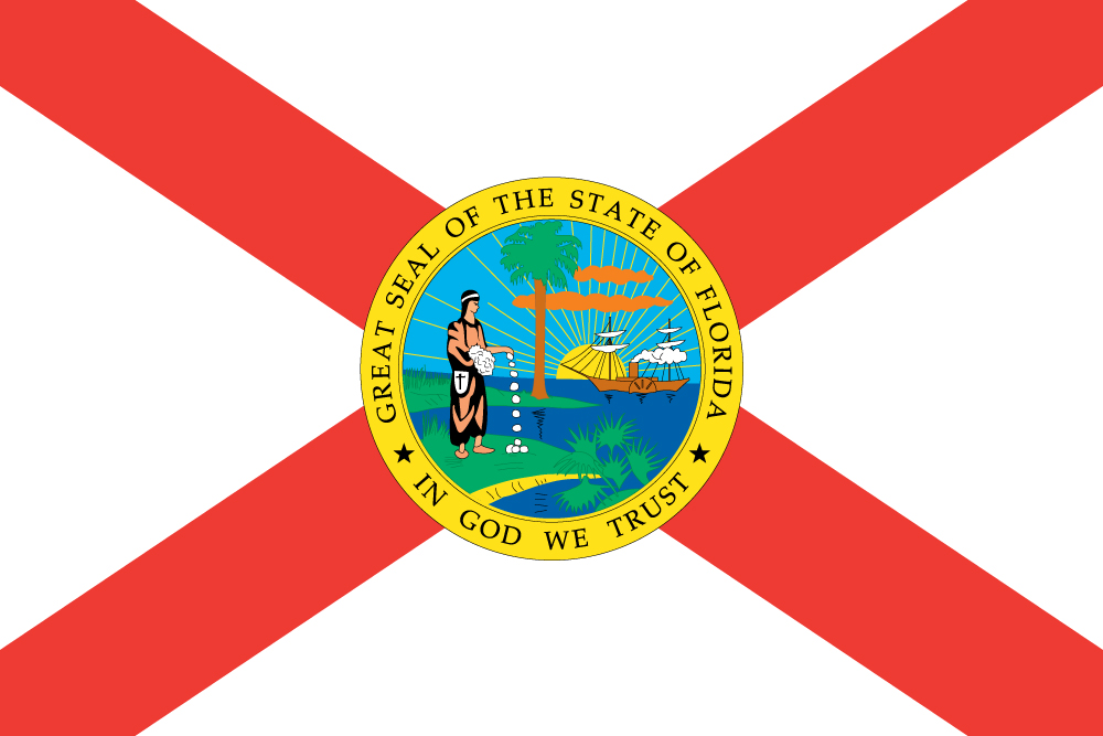 Floridian Flag (Flag of Florida) - US State