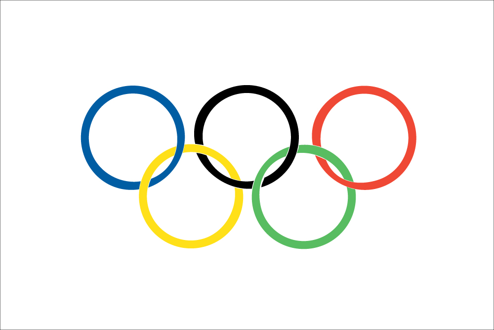 Olympic Flag (Flag of the Olympics)
