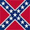 US Historic Confederate Flag